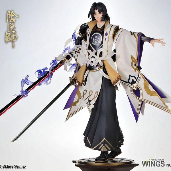 Onikiri White Hibiscus Ver Figure Onmyoji