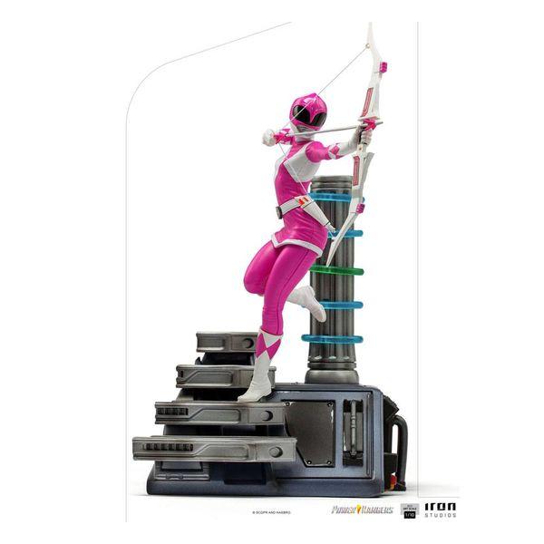 Estatua Pink Ranger Power Rangers BDS Art Scale