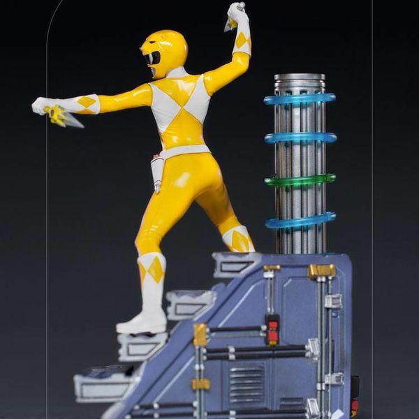 Estatua Yellow Ranger Power Rangers BDS Art Scale