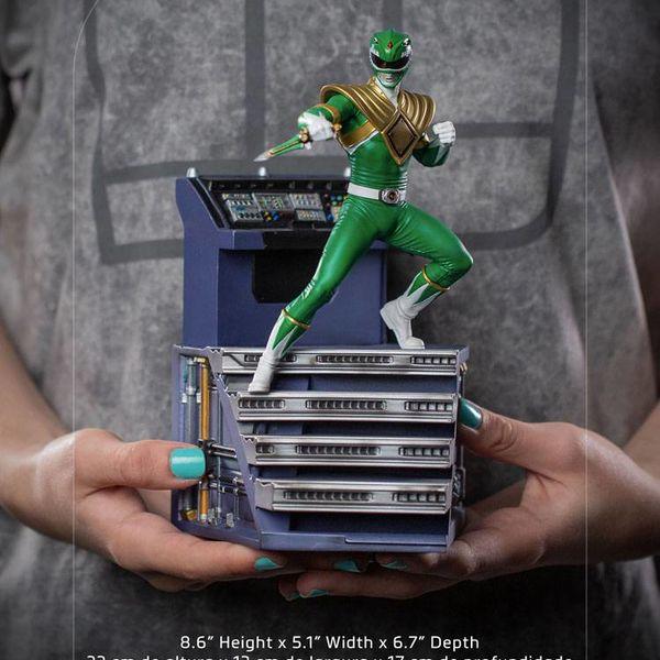 Estatua Green Ranger Power Rangers BDS Art Scale
