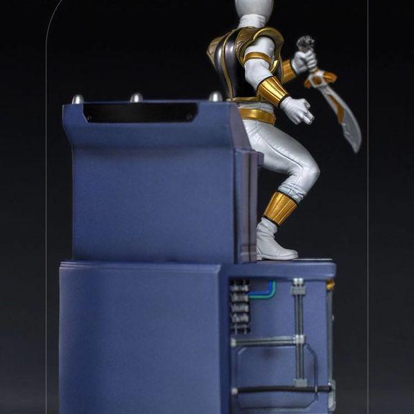 Estatua White Ranger Power Rangers BDS Art Scale