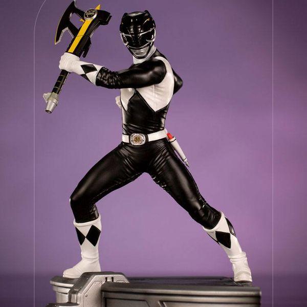 Black Ranger Statue Power Rangers BDS Art Scale