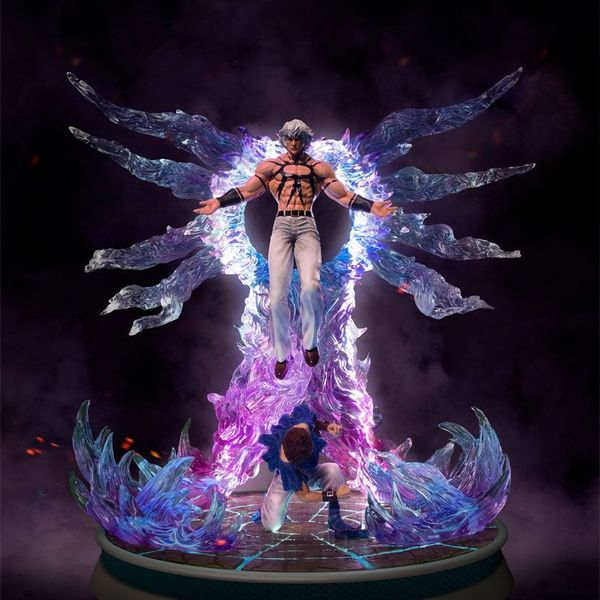 Orochi y Chris Statue The King of Fighters 97