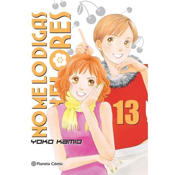 No me lo digas con Flores KANZENBAN #13 Manga Oficial Planeta Comic