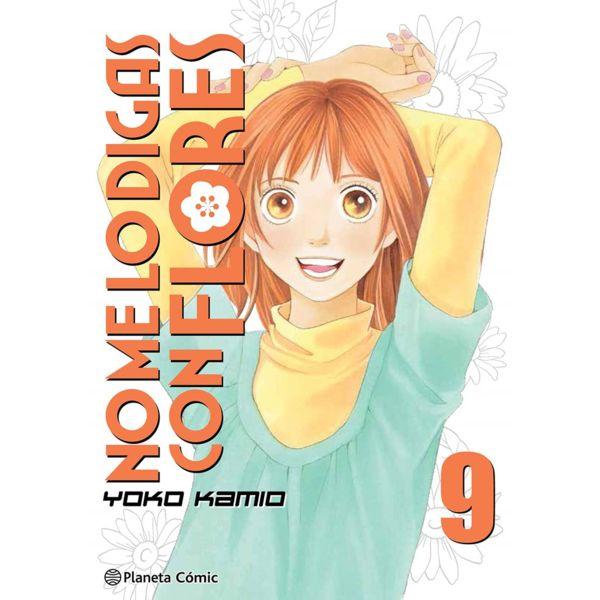 No me lo digas con Flores KANZENBAN #09 Manga Oficial Planeta Comic