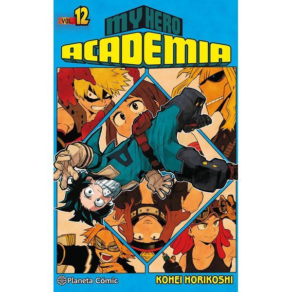 My Hero Academia #12 Manga Oficial Planeta Comic