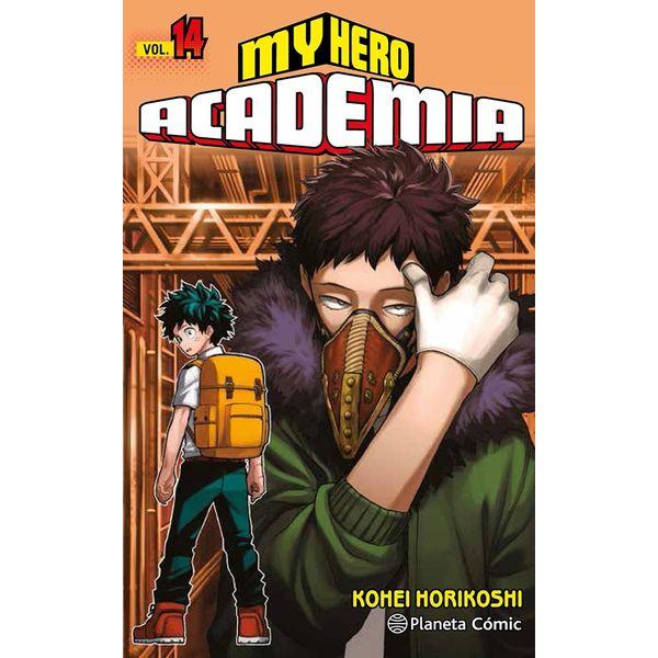 My Hero Academia #14 Manga Oficial Planeta Comic