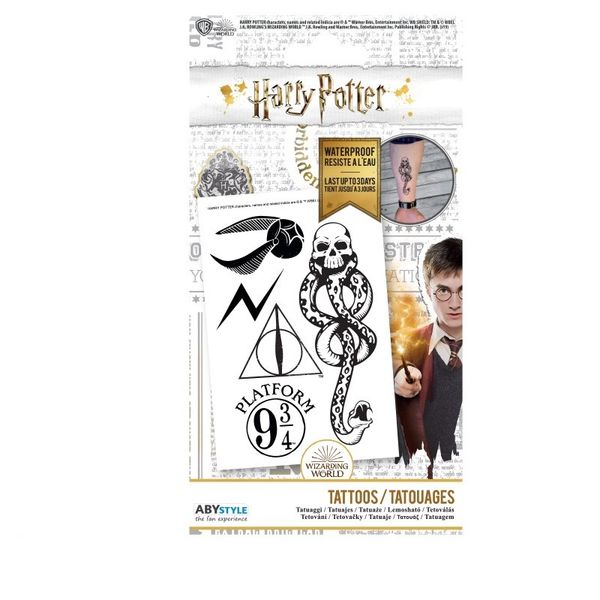 Lámina de Tatuajes Harry Potter