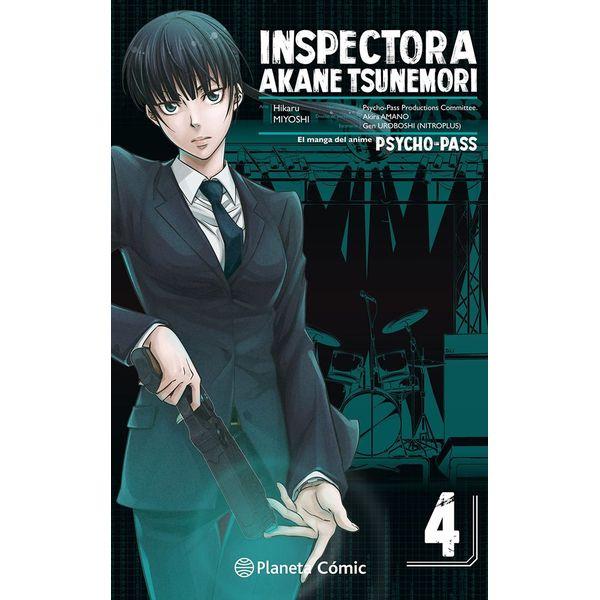 Inspectora Akane Tsunemori PSYCHO PASS #04