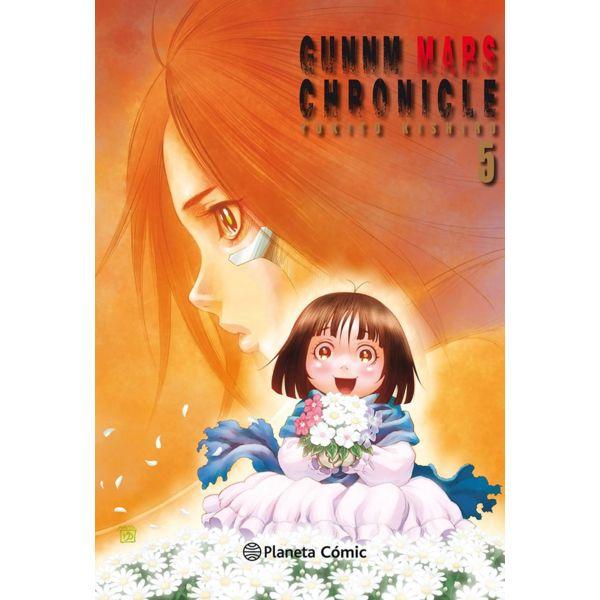 Gunnm Mars Chronicle #05 Manga Oficial Planeta Comic