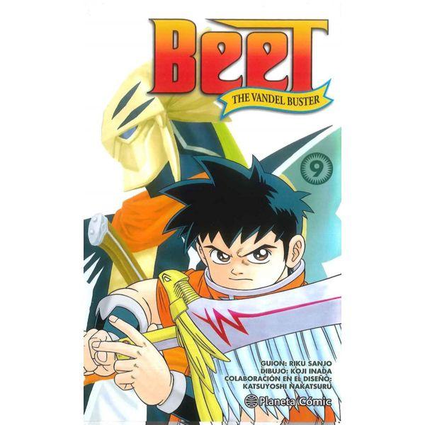 Beet the Vandel Buster #09 Manga Oficial Planeta Comic (Spanish)