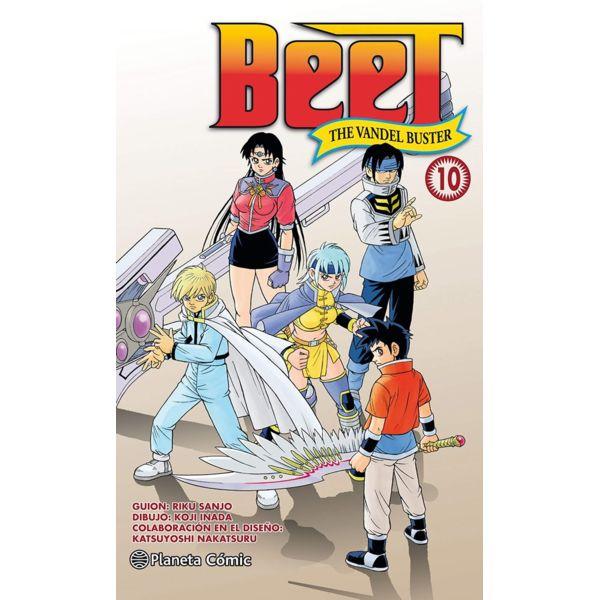 Beet the Vandel Buster #10 Manga Oficial Planeta Comic (Spanish)