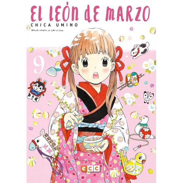 El León de Marzo #09 Manga Oficial ECC Ediciones