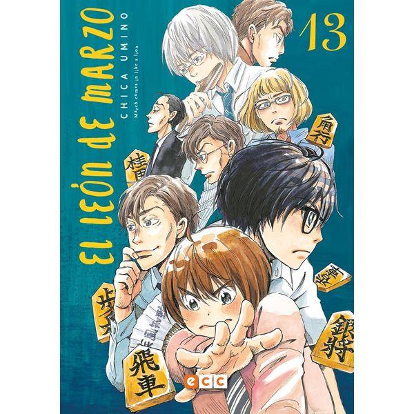 El León de Marzo #13 Manga Oficial ECC Ediciones