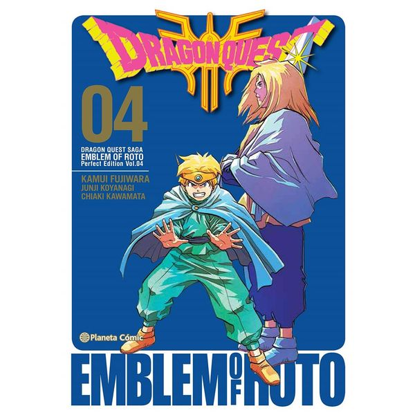 Dragon Quest Emblem of Roto #04 Manga Oficial Planeta Comic