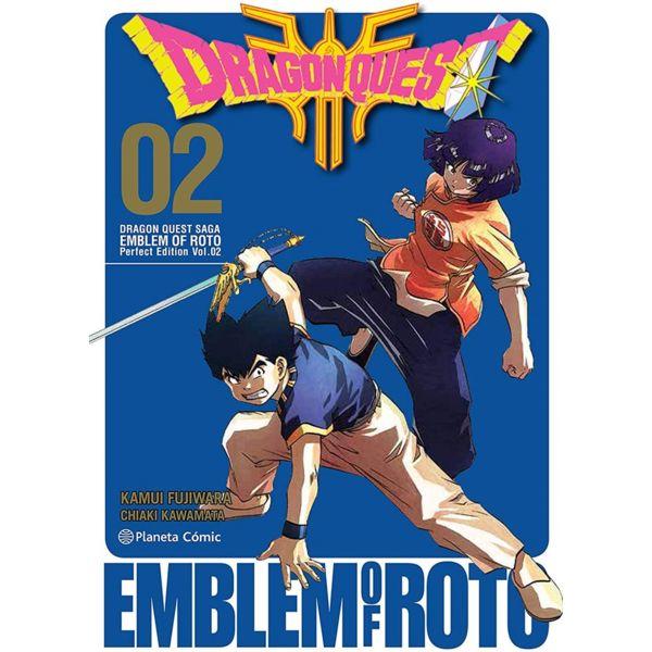 Dragon Quest Emblem of Roto #02 Manga Oficial Planeta Comic