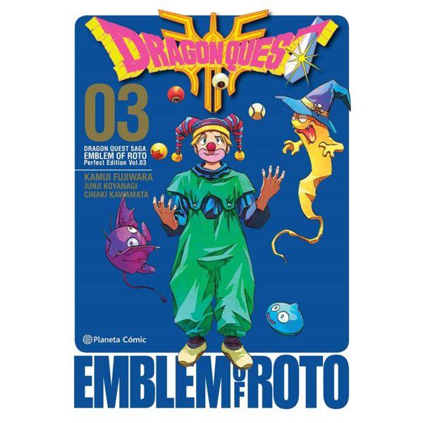 Dragon Quest Emblem of Roto #03 Manga Oficial Planeta Comic