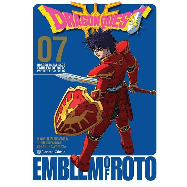 Dragon Quest Emblem of Roto #07 Manga Oficial Planeta Comic