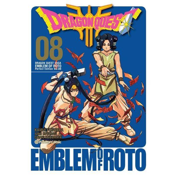 Dragon Quest Emblem of Roto #08 Manga Oficial Planeta Comic (spanish)
