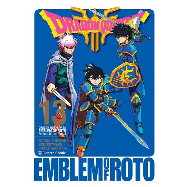 Dragon Quest Emblem of Roto #13 Manga Oficial Planeta Comic