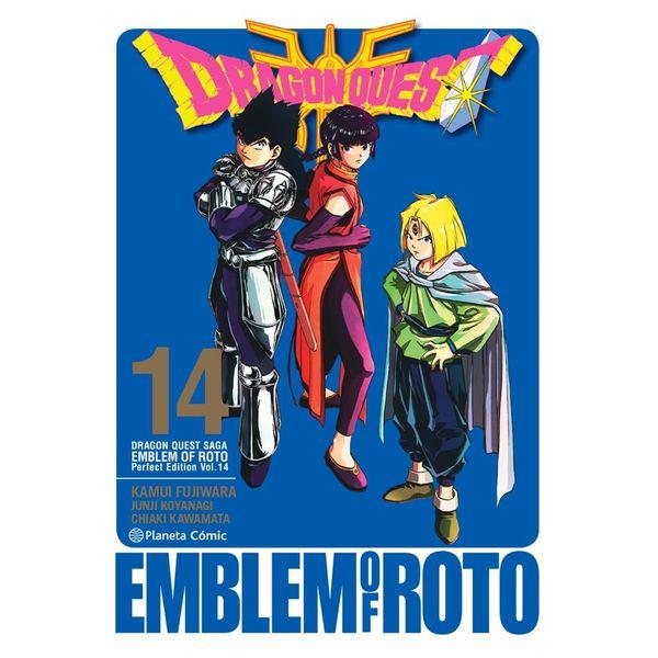Dragon Quest Emblem of Roto #14 Manga Oficial Planeta Comic