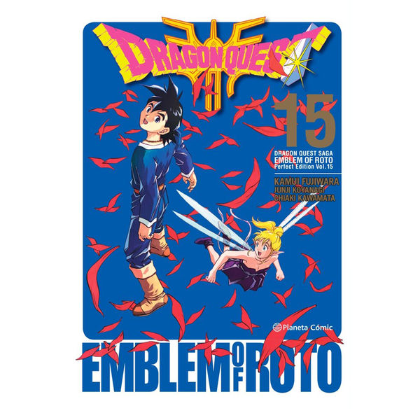 Dragon Quest Emblem of Roto #15 Manga Oficial Planeta Comic (Spanish)