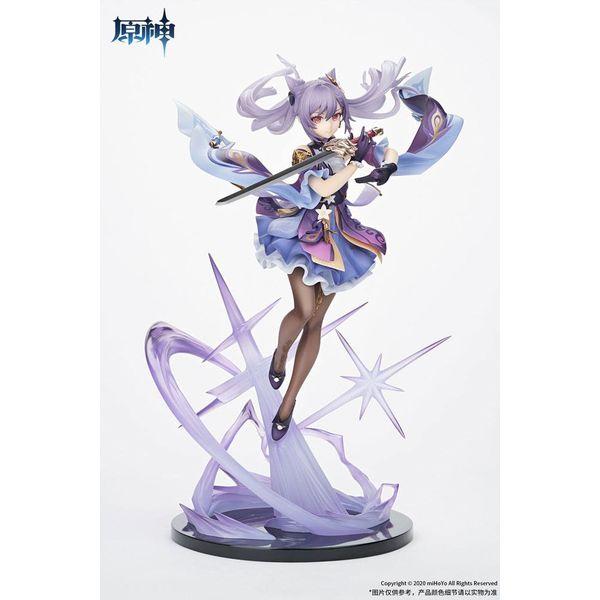 Figura Keqing Piercing Thunderbolt Version Genshin Impact
