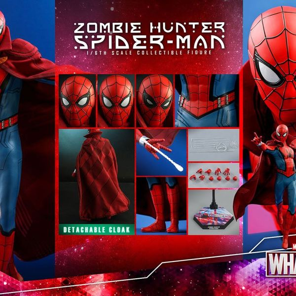 Figura Zombie Hunter Spider Man What If Marvel Comics Hot Toys