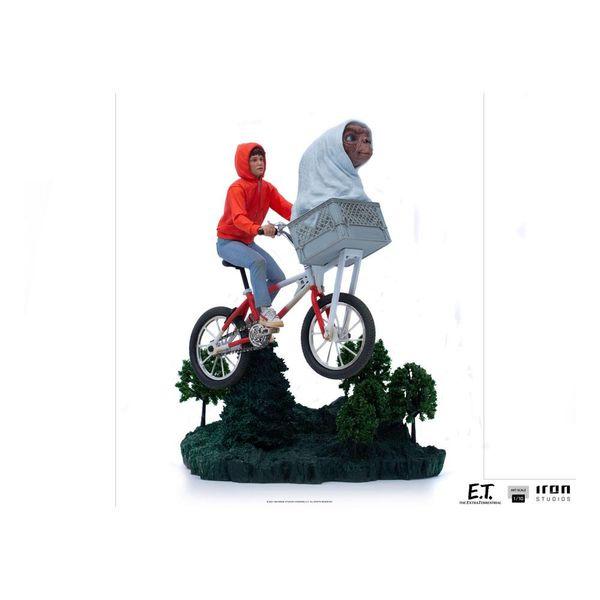 ET & Elliot Statue ET Art Scale