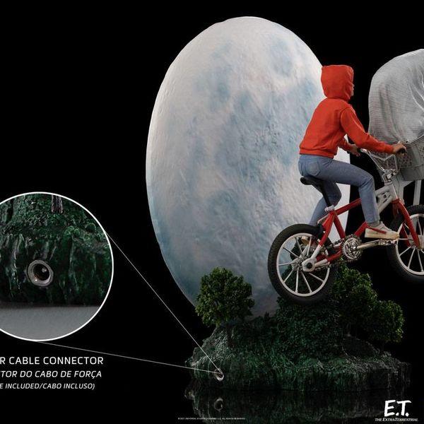 Estatua ET y Elliot ET El Extraterrestre Deluxe Art Scale