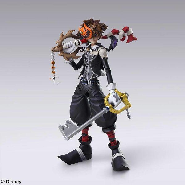 Figura Sora Halloween Town Kingdom Hearts II Play Arts Kai