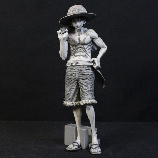 Monkey D Luffy Monochrome Figure One Piece Magazine Vol 2