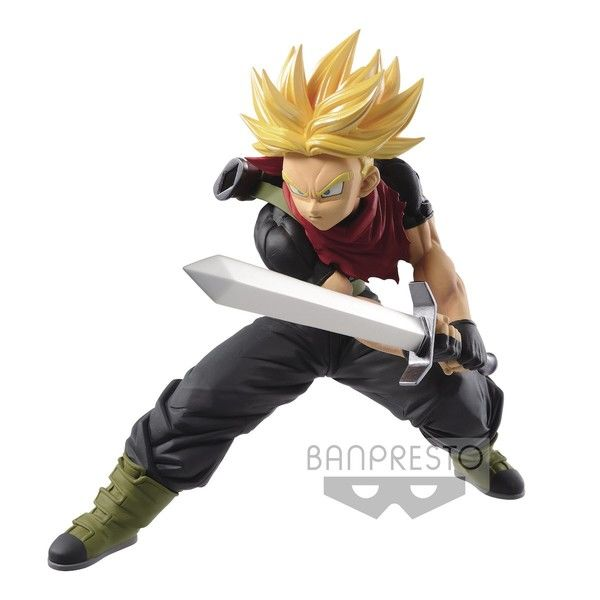 Figura Trunks SSJ Dragon Ball Heroes Transcendence Art 5