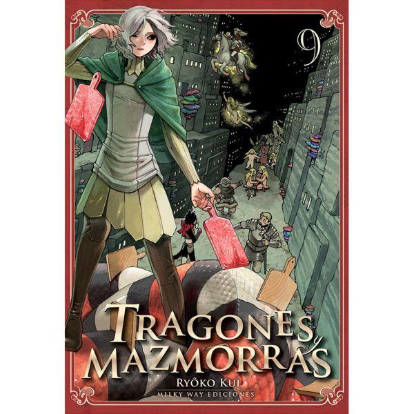 Tragones y Mazmorras #09 (Spanish) Manga Oficial Milky Way Ediciones