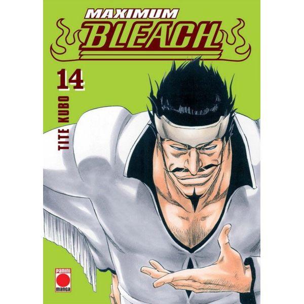 Maximum Bleach #14 Manga Oficial Panini Cómic