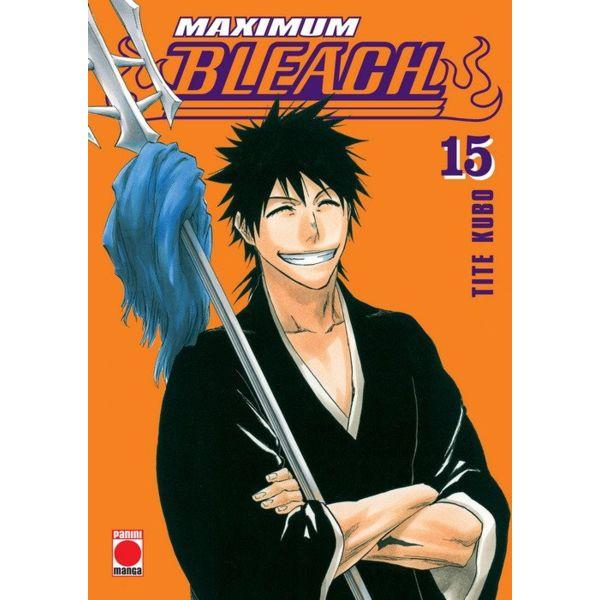 Maximum Bleach #15 Manga Oficial Panini Cómic