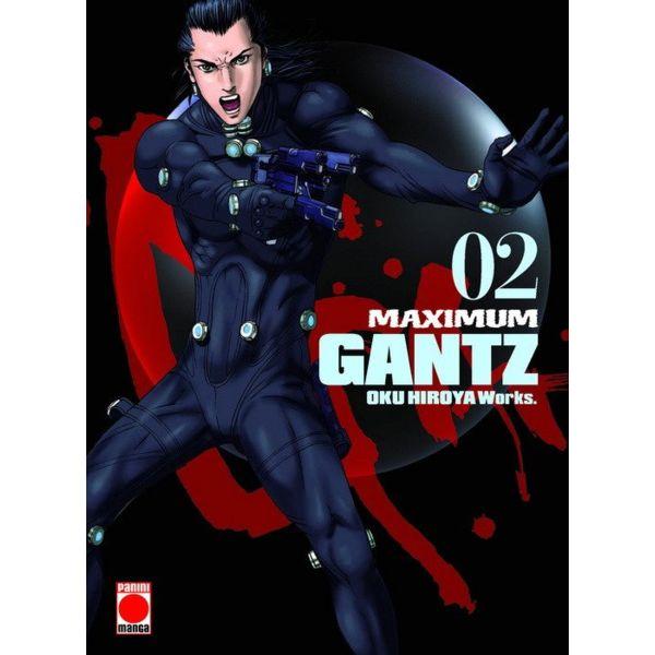 Maximum Gantz #02 Manga Oficial Panini Manga