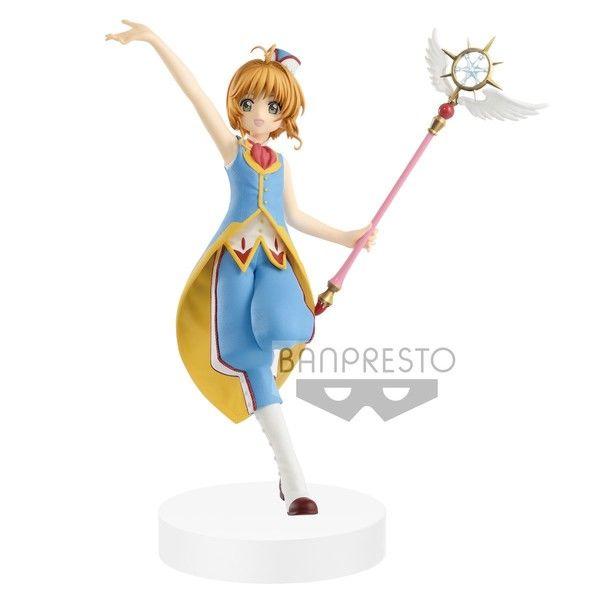 Kinomoto Sakura Figure Card Captor Sakura Clear Card EXQ