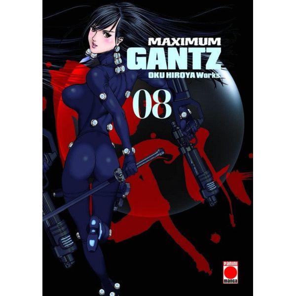 Maximum Gantz #08 Manga Oficial Panini Manga