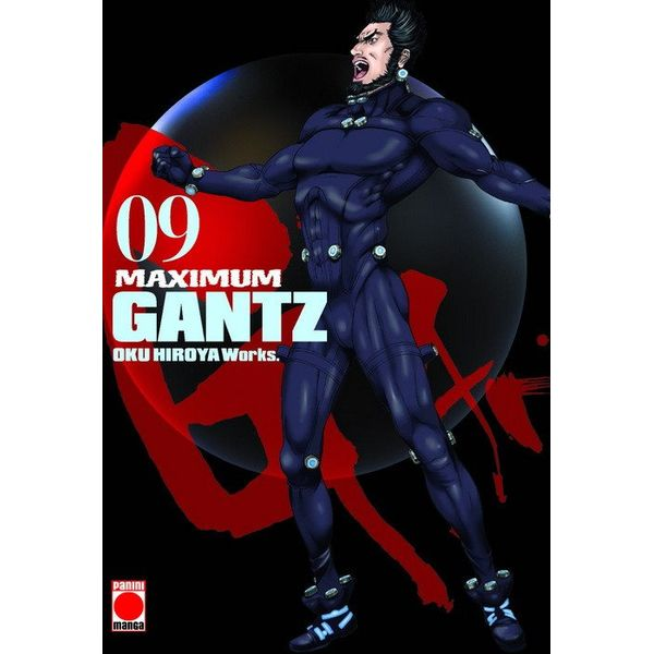 Maximum Gantz #09 Manga Oficial Panini Manga