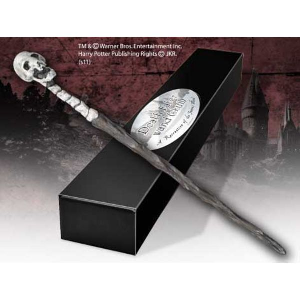 Death Eater Skull Wand Official Replica Harry Potter