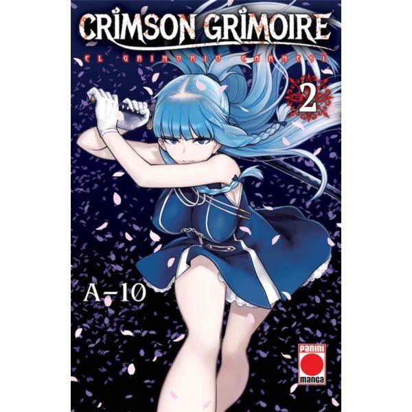 Crimson Grimoire: El Grimorio Carmesí #02 Manga Oficial Panini Manga