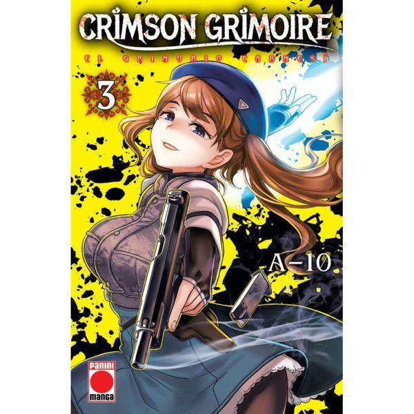Crimson Grimoire El Grimorio Carmesi #03 Manga Oficial Panini Manga