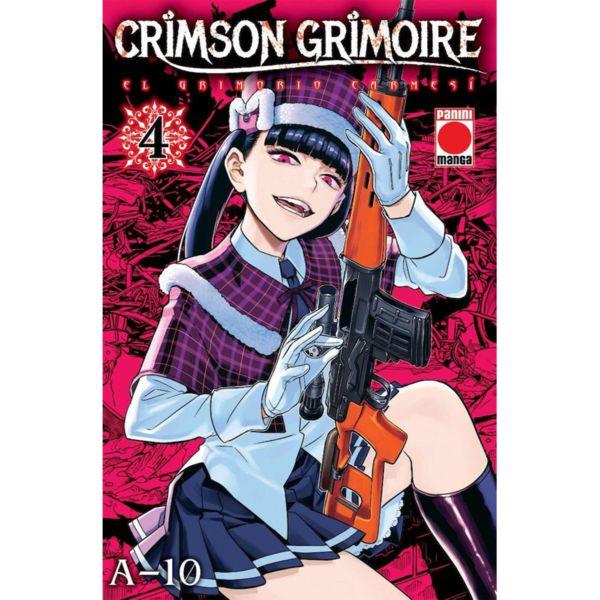 Crimson Grimoire El Grimorio Carmesi #04 Manga Oficial Panini Manga
