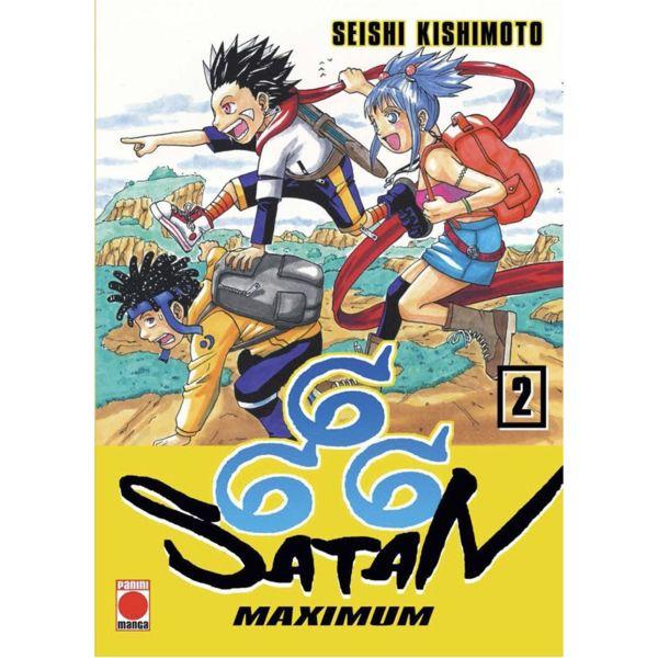 Maximum Satan 666 #02 Manga Oficial Panini Manga