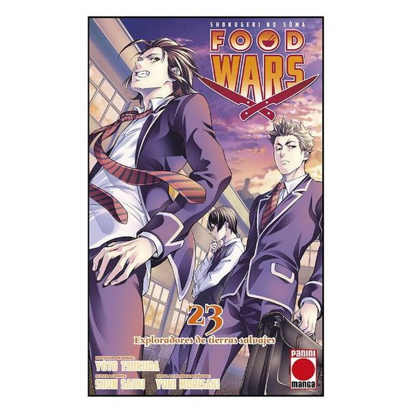 Food Wars Shokugeki no Soma #23 Manga Oficial Panini Manga