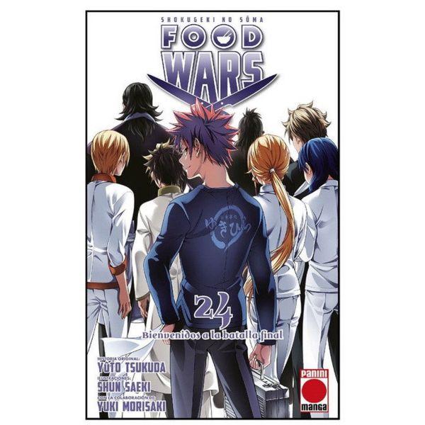 Food Wars Shokugeki no Soma #24 Manga Oficial Panini Manga