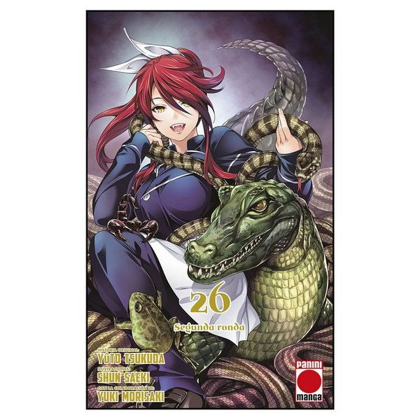 Food Wars Shokugeki no Soma #26 Manga Oficial Panini Manga (Spanish)