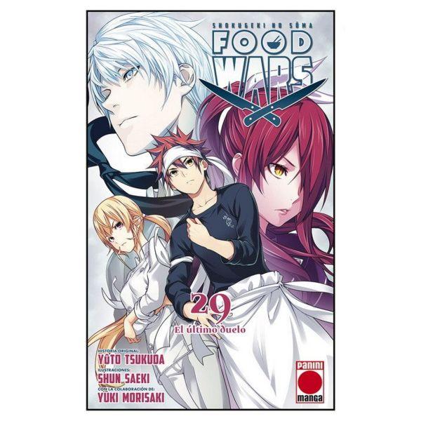 Food Wars Shokugeki no Soma #29 Manga Oficial Panini Manga