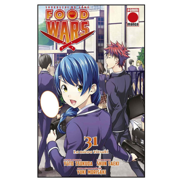 Food Wars Shokugeki no Soma #31 Manga Oficial Panini Manga